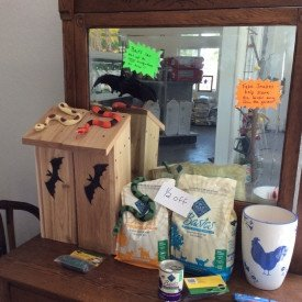 Bat House - Local Pottery - Yorktown Feed & Seed Store