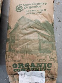 Organic Feed and Seed products offered by The Yorktown Feed & Seed Store