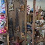Folk Art saws & metal work - Yorktown Feed & Seed - Virginia
