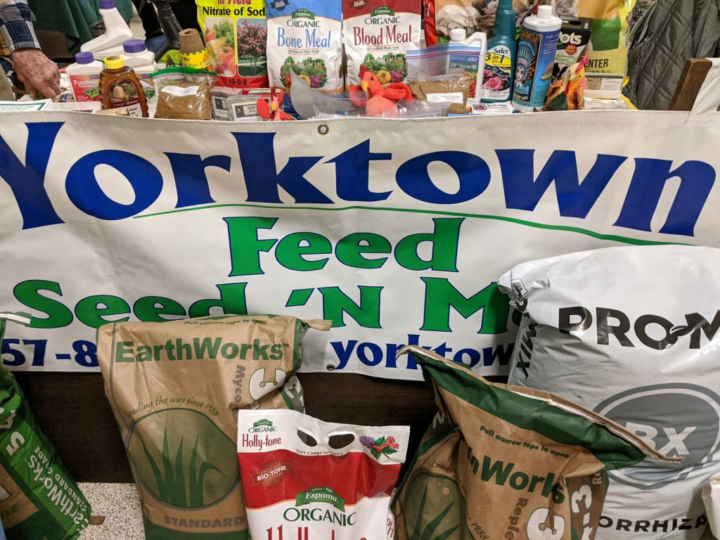 Yorktown Feed Seed N More - animal feed - local products - chickens